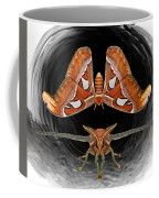 A Is For Atlas Moth Coffee Mug