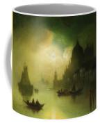 A Moonlit Night Over Venice Coffee Mug
