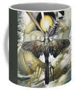 A Painting Alludes To Powers That Might Enable Birds To Migrate. Coffee Mug