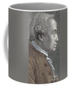 A Portrait Of Immanuel Or Emmanuel Kant Coffee Mug