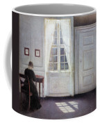 A Room In The Artist's Home In Strandgade, Copenhagen, With The Artist's Wife - Digital Remastered Coffee Mug