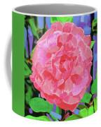 A Rose With Heart Coffee Mug by Deborah Boyd