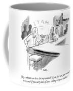 A Shrimp Cocktail Coffee Mug