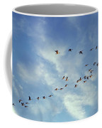 A Skein Of Canada Geese Coffee Mug