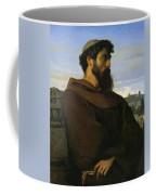 A Thinker A Young Roman Monk Coffee Mug