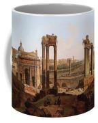 A View Of The Forum Romanum Coffee Mug