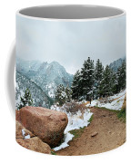 A Winter's Day In The Flatirons Coffee Mug