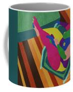 A Woman In A Chair Coffee Mug