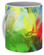 Abstract In Full Bloom Coffee Mug