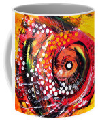 Abstract Lion Fish Coffee Mug