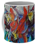 Abstract Orchids.  Coffee Mug