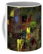 Abstract Patchwork Coffee Mug