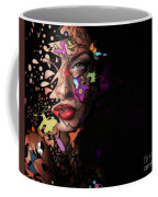 Abstract Portrait No 12 Coffee Mug
