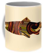 Abstract Trout Coffee Mug