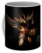 Abstracted Christmas - Luminous Fairy Lights Patterns Coffee Mug
