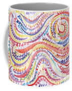 Abstraction In Winter Colors Coffee Mug