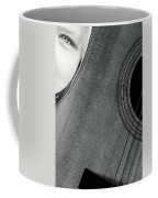 Acoustic Curves No 6 Coffee Mug by Bob Orsillo
