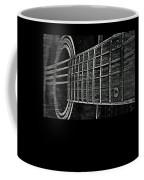 Acoustic Guitar Musician Player Metal Rock Music Strings Coffee Mug