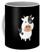 Adorable Cow Cute Baby Calf Coffee Mug