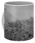 Aerial View Of Downtown San Francisco From The Air Coffee Mug