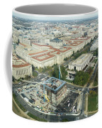 Aerial View Of The Smithsonian National Museum Of African Americ Coffee Mug