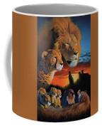 African Cats Coffee Mug