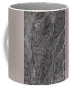 After Billy Childish Pencil Drawing 11 Coffee Mug