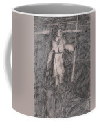 After Billy Childish Pencil Drawing 14 Coffee Mug