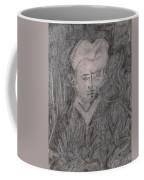 After Billy Childish Pencil Drawing 2 Coffee Mug