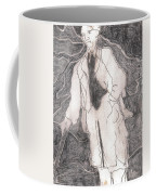 After Billy Childish Pencil Drawing 21 Coffee Mug