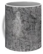 After Billy Childish Pencil Drawing 5 Coffee Mug