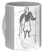 After Billy Childish Pencil Drawing B2-9 Coffee Mug