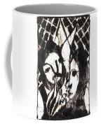 After Mikhail Larionov Black Oil Painting 14 Coffee Mug