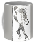 After Mikhail Larionov Pencil Drawing 12 Coffee Mug
