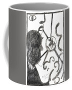 After Mikhail Larionov Pencil Drawing 13 Coffee Mug