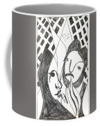 After Mikhail Larionov Pencil Drawing 14 Coffee Mug