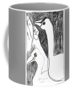 After Mikhail Larionov Pencil Drawing 5 Coffee Mug