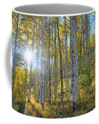 Afternoon Aspens Coffee Mug