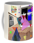 Afternoon At The Museum Coffee Mug by Teresa Epps