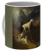 Albert_bierstadt_-_rocky_mountain_goats Coffee Mug