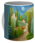 All Is Calm All Is Bright Coffee Mug by Angeles M Pomata