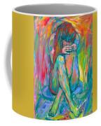 Alone Coffee Mug by Kendall Kessler