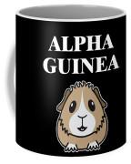 Alpha Guinea Pig Coffee Mug