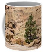 Amazing Life On The Sandstone Cliffs Coffee Mug