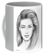 Amber Heard Coffee Mug