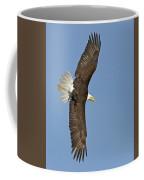 American Bald Eagle In Flight IIi Coffee Mug