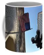 American Flag Downtown La Coffee Mug