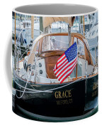 American Pride At The Marina Coffee Mug