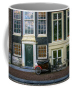 Amsterdam Bike Scene Coffee Mug