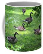 An Afternoon With Canada Geese Coffee Mug